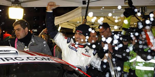 Bryan Bouffier, vencedor del Rally de Montecarlo IRC 2011