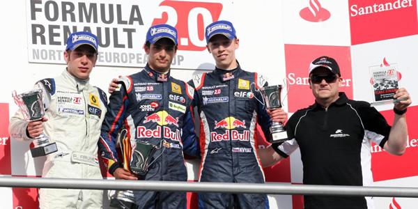 Carlos Sainz Júnior gana en la Northern European Cup