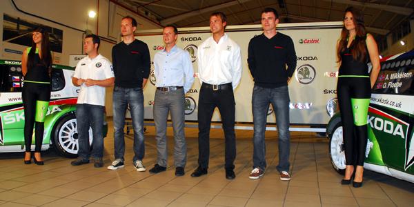 Skoda presentó sus pilotos del Rally Islas Canarias