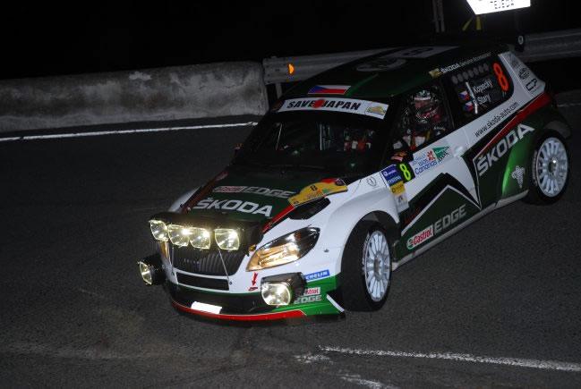 Kopecky lideraba el rally tras la primera etapa