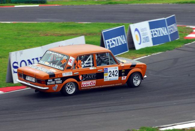 Rayco Martín en el Rally Islas Canarias