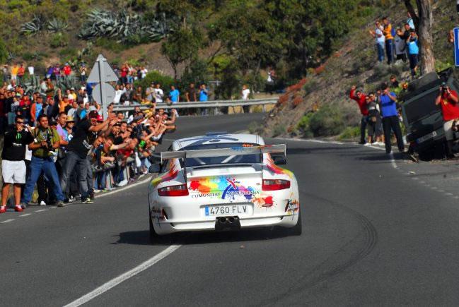 Shakedown del Rally Islas Canarias
