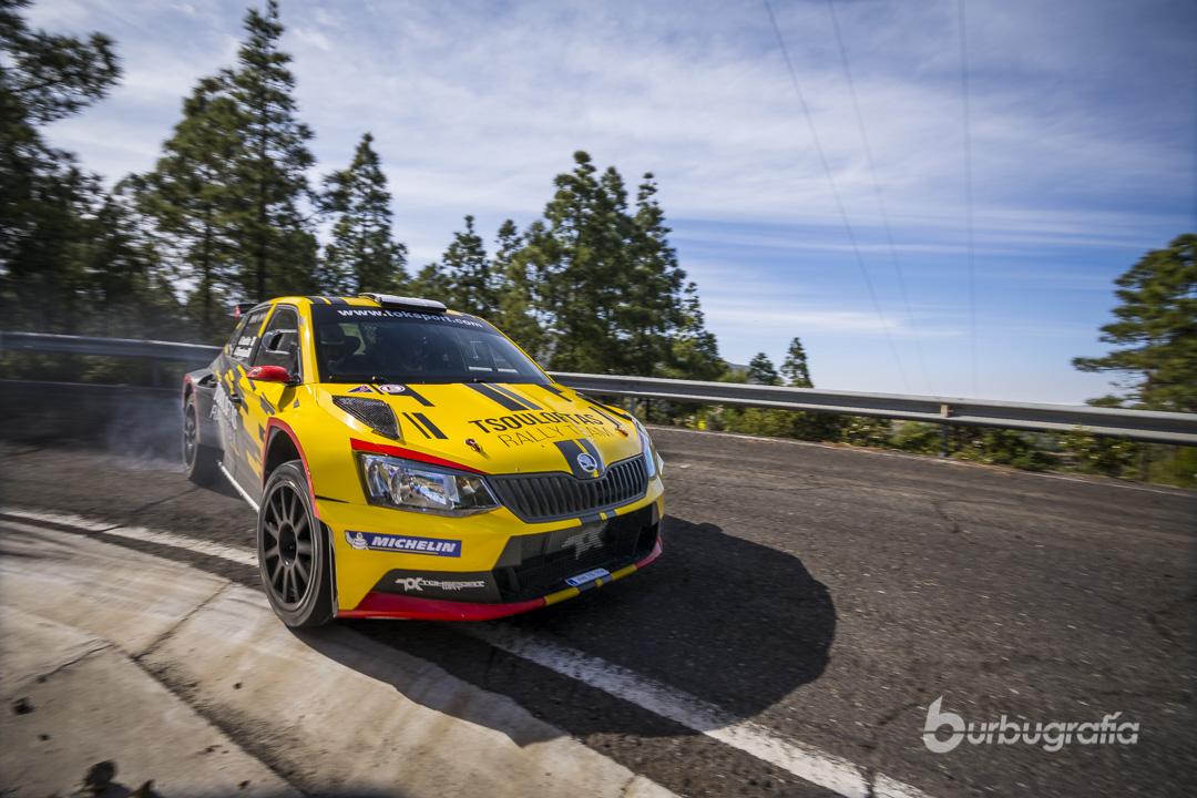 Galería del Monday Test del Rally Islas Canarias