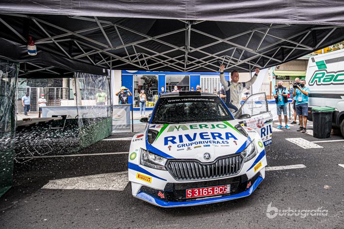 Galería de Momentos Rallye Senderos La Palma 2021