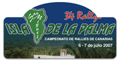 XXXIV Rallye Isla de San Miguel de La Palma