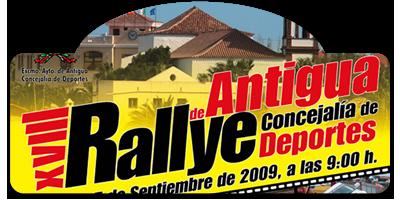 XVIII Rallye de Antigua