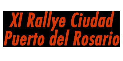 XI Rallye Ciudad Puerto del Rosario