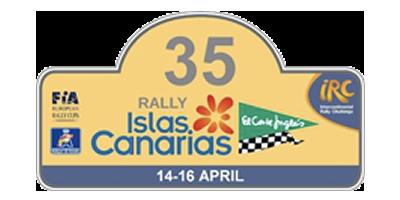 """35 Rally Islas Canarias """"El Corte Inglés"""" IRC"""