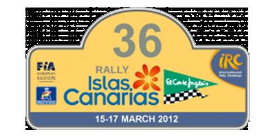 """36 Rally Islas Canarias """"El Corte Inglés"""" IRC"""
