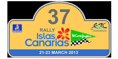 """37 Rally Islas Canarias """"El Corte Inglés"""" ERC"""