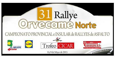 31 Rallye Orvecame Norte
