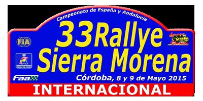 33 Rallye Sierra Morena