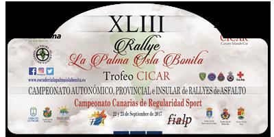 43 Rallye La Palma Isla Bonita