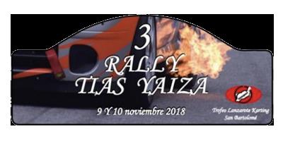 III Rally Tías - Yaiza