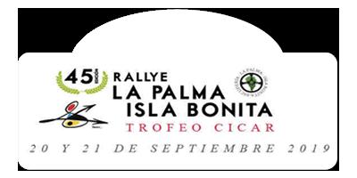 45 Rallye La Palma Isla Bonita