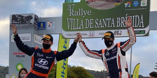 Toñi Ponce y Dani Sosa, vencedores